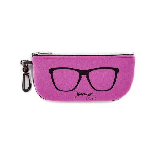 Okulary przeciwsłoneczne dzieci 4-10lat uv400 - black/pink marki Banz