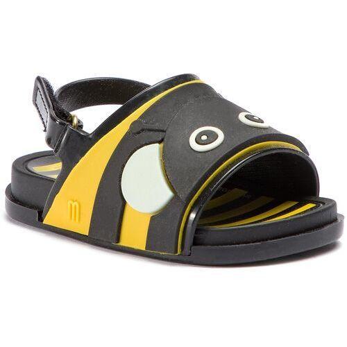 e0f82fe3622d7b Zobacz w sklepie Sandały - mini melissa beach slide sanda 32448  black/red/yellow 53455 Melissa