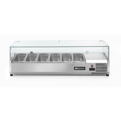 Hendi Nadstawa chłodnicza 6x gn 1/3 | 1400x395x(h)430mm