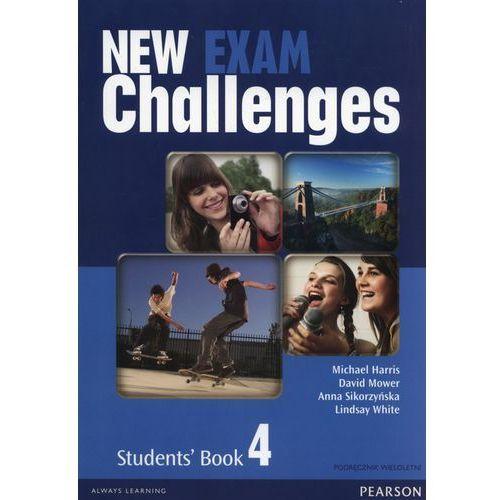New Exam Challenges 4 SB+Mp3 CD (podręcznik wieloletni) - Praca zbiorowa (9788378824480)