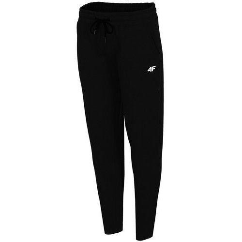 4f Damskie spodnie dresowe h4l19 spdd001 czarny 20s l