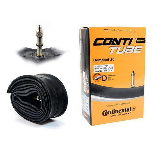 "Continental Dętka compact 20'' x 1,25'' - 1,75'' wentyl dunlop 40 mm - dv / rowerowy / dunlop \ 406/451 - 20"" \ 40 mm \ 1,25 - 1,75"""