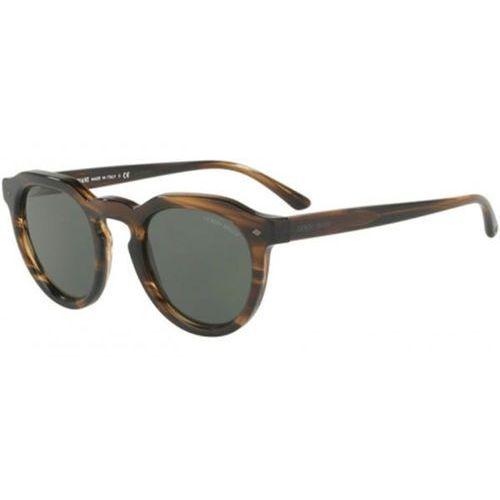 Okulary Słoneczne Giorgio Armani AR8093 559431, kolor żółty