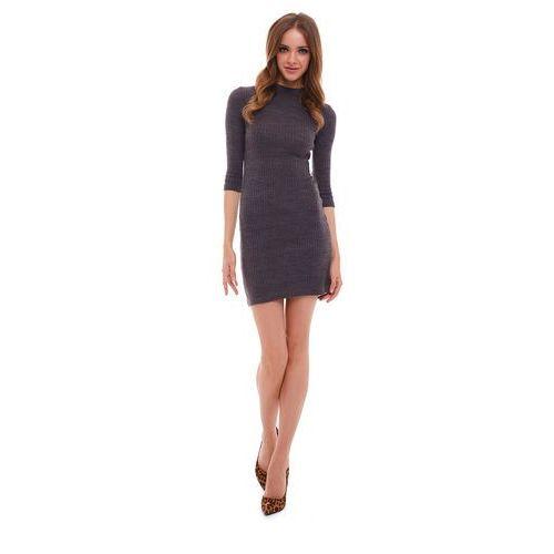 Sukienka Apatite w kolorze szarym