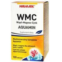 Tabletki WMC Wapń-Magnez-Cynk AQUAMIN x 100 tabletek