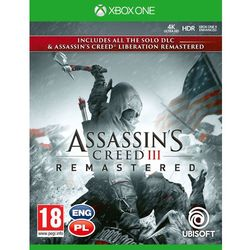 Assassin's Creed 3 Liberation Remastered (Xbox One)