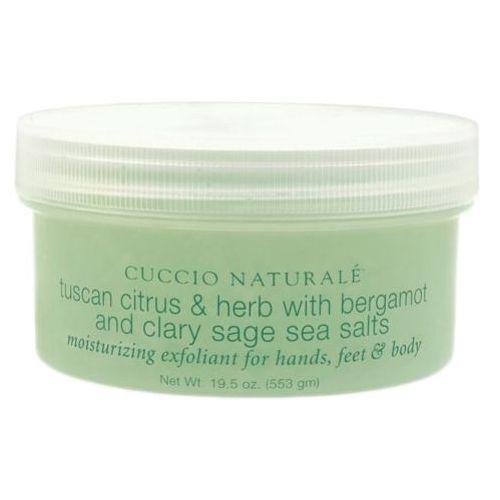 Cuccio tuscan citrus & herb with bergamot and clary sage sea salt sól morska cytrus i bergamotka (553 ml)