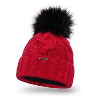 Zimowa czapka damska PaMaMi - Czerwony - Czerwony
