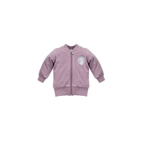 Bluza rozpinana wrzosowa unicorn 5f36a2 marki Pinokio
