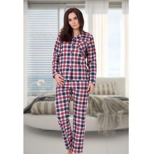 Piżama damska Florencja, flanela 100% bawełna