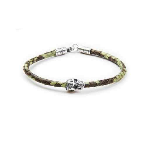Caviallo Green python with skull l
