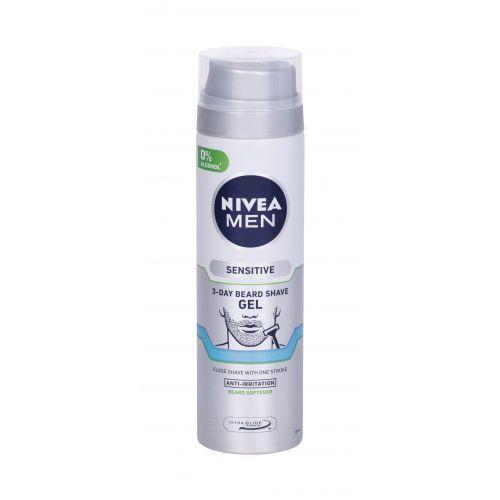 Nivea Men Sensitive 3-Day Beard żel do golenia 200 ml dla mężczyzn - Sprawdź już teraz