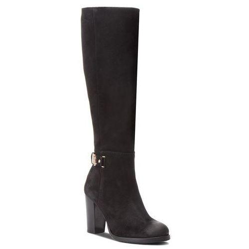 92e4b705a1662 Kozaki - th buckle heeled lon fw0fw03631 black 990 marki Tommy hilfiger -  foto produktu