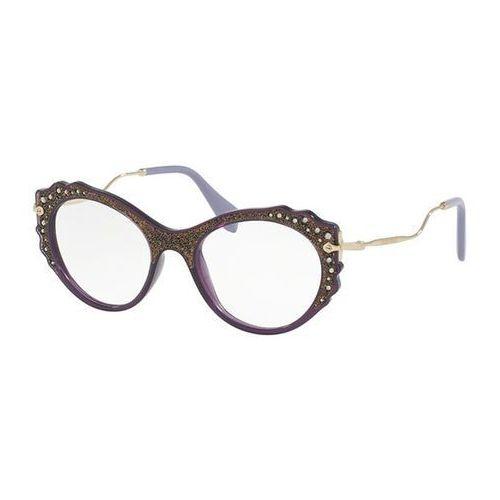 Miu miu Okulary korekcyjne mu01pv usv1o1