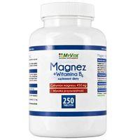 Tabletki MAGNEZ Z WITAMINA B6, MyVita, 250 TABLETEK