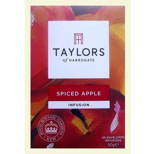 Taylors & kew spiced apple teabags 20 per pack Taylors of harrogate