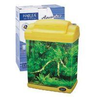 Akwarium akrylowe+filtr podżwirowy+oświetlenie led 6l żółte marki Hailea