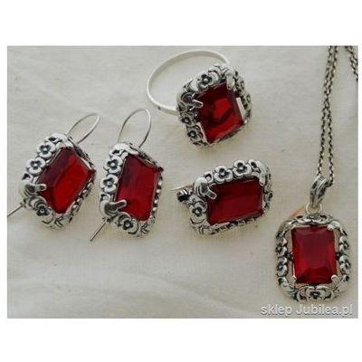 18cb0d9ed79a54 Komplety biżuterii Kamień: rubin ceny, opinie, recenzje ...