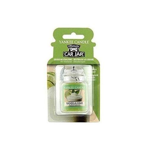 Yankee candle Car jar ultimate zapach samochodowy vanilla lime 1sztuka