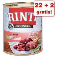 22 + 2 gratis! pur, 24 x 800 g - konina marki Rinti