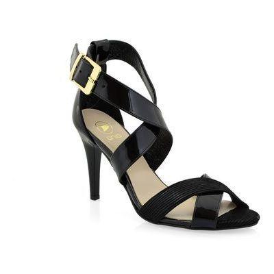 sandaly wojas 479051 czarny w kategorii: Sandały damskie