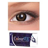 Maxvue vision Soczewki big eyes 15mm sweet honey - colourvue - 1 para