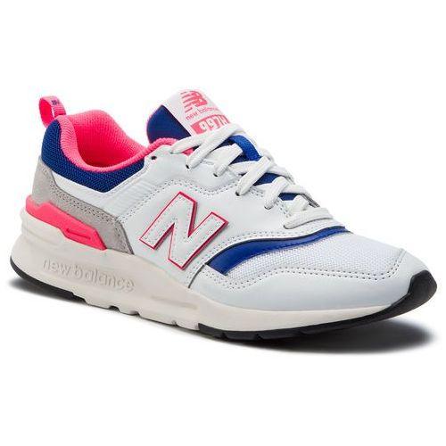 New balance Sneakersy - cm997haj biały