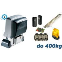 Xxl zestaw bx74 do 400kg - komplet sp2 - 4mb listwy zębatej marki Came