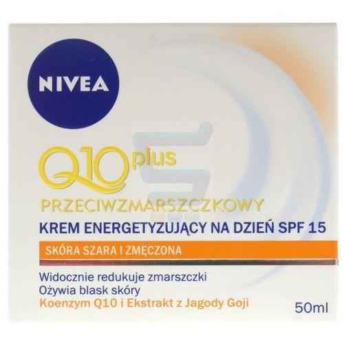 Nivea 50ml q10 plus przeciwzmarszczkowy krem energetyzujący na dzień