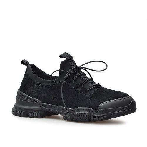Sneakersy 0226192319k czarne zamsz marki Venezia
