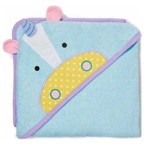 Skip hop ręcznik z kapturem zoo - jednorożec
