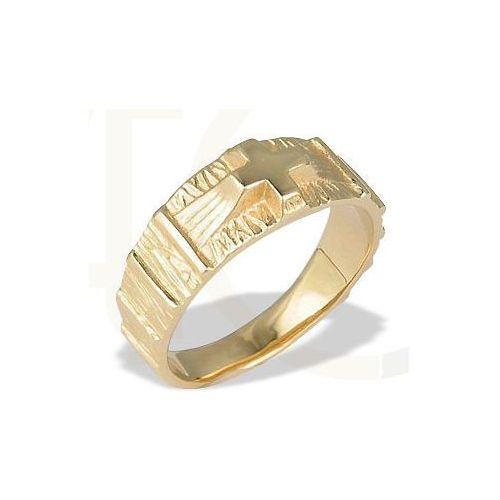 Węc - twój jubiler Sygnet ze złota -różaniec jp-35z