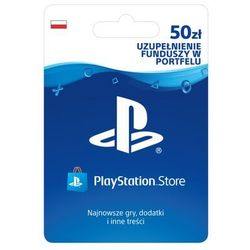 playstation network 50 zł marki Sony