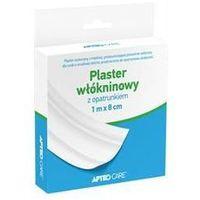 Apteo care plaster włókninowy z opatrunkiem 1m x 8cm marki Synoptis pharma