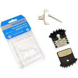 Okładziny/klocki hamulcowe Shimano J04C metaliczne z radiatorem XTR / XT/ SLX / Alfine - bez opakowania