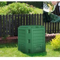 Kompostownik compogreen 380 l zielony leśny marki Prosperplast