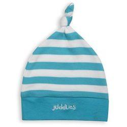czapka niemowlęca blue stripe marki Juddlies