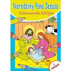 Kolorowanki biblijne Narodziny Pana Jezusa - Zespół Wydawnictwa Ibis
