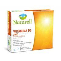 Tabletki Witamina D3 2000j.m x 60 tabletek do ssania