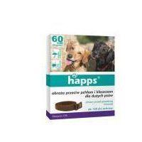 Bros 60cm obroża dla dużych psów na pchły i kleszcze marki Happs
