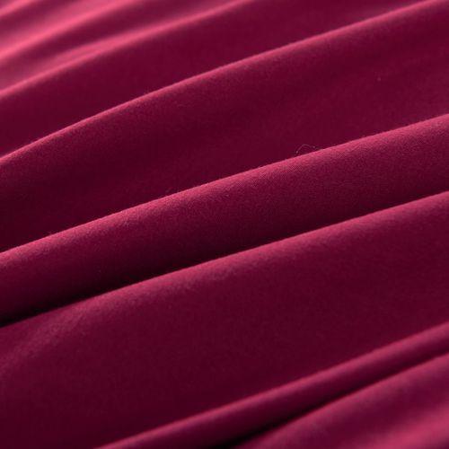 vidaxl 3 cz ciowy zestaw po cieli 200 x 200 80 x 80 cm burgund ceny opinie promocje. Black Bedroom Furniture Sets. Home Design Ideas