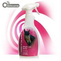 Horse of the world - magic liss - spray ułatwiający rozczesywanie i nabłyszczający dla koni, 500 ml marki Diamex