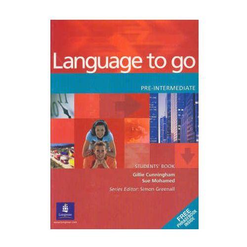 Language to go pre-intermediate Student&-8217;s Book (128 str.)