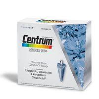 Centrum SILVER 50+ x 100 tabletek + Prezent Elegancka zawieszka z kryształem Swarovski błękit