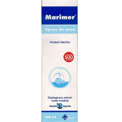 Spray Marimer Izotoniczny Spray oczyszczająca woda morska do nosa 100 ml