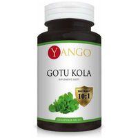 Kapsułki Gotu kola Centella asiatica 450mg YANGO - ekstrakt 10% saponin triterpenowych - 100 kapsułek