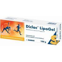 Diclac Lipogel żel 0,01 g/g 100 g (tuba) (5907626701739)