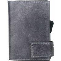 SecWal SecWal 1 Kreditkartenetui Geldbörse RFID Leder 9 cm grau ZAPISZ SIĘ DO NASZEGO NEWSLETTERA, A OTRZYMASZ VOUCHER Z 15% ZNIŻKĄ