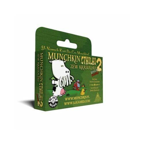 Gra Munchkin Cthulhu 2 Zew Krasulhu Dodatek + PREZENT do zakupów za min.30 zł., 125945