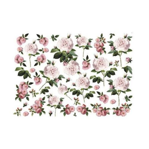 Papier do decoupage A3 ITD 183 róża MadamePierr x1